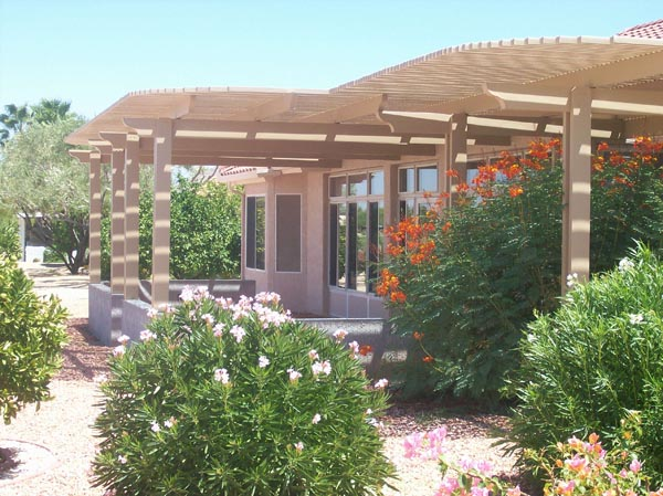 Lattice Patio Cover Gilbert