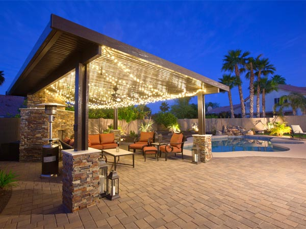Metal Frame Patio Cover Gilbert AZ