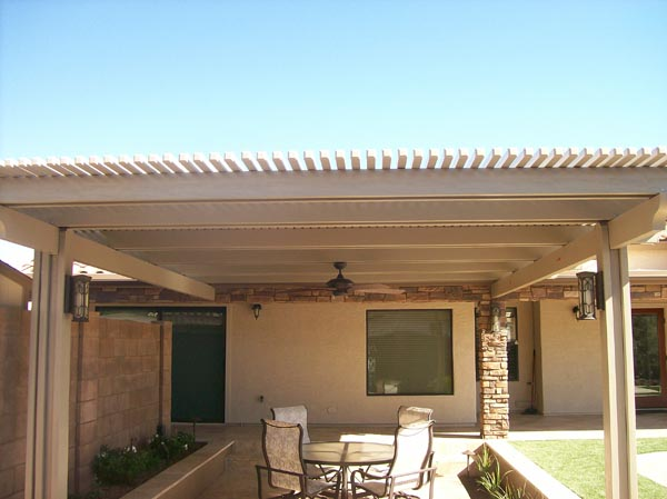 Wood Patio Cover Gilbert AZ
