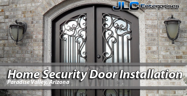 Home Security Door Paradise Valley