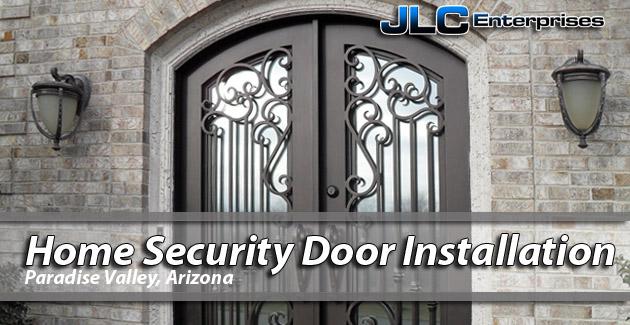 Home Security Door Paradise Valley