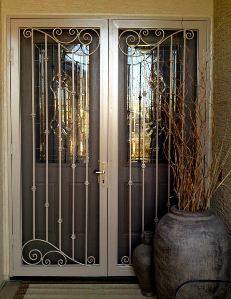 French Exterior Doors Steel: Home Security Doors Chandler AZ